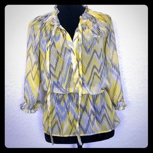 Banana Republic Sheer Blouse - XS